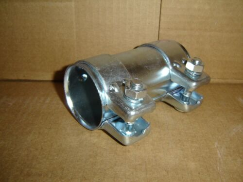 "2.25/"" X 5/"" OESL EXHAUST SLEEVE CLAMP HEAVY DUTY SS409"
