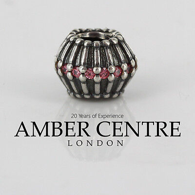 Pandora Charm - Show Stopper Ribbon With Salmon - 790545czs Rrp£75!!! Gute WäRmeerhaltung