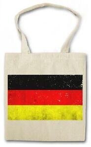 GERMAN FLAG HIPSTER BAG - Stofftasche Stoffbeutel - Deutschland Fahne Germany