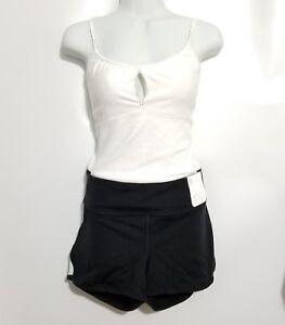 NWT-Womens-GAP-Fit-Black-Active-Short-Shorts-Sz-XL