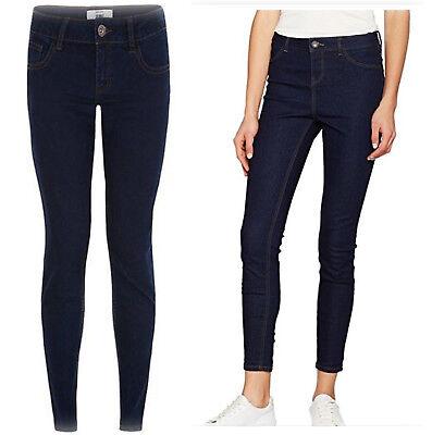 New Ladies Ex New-Look Dark Denim Skinny Jeans Trouser Jeggings Size 6-20