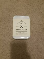 The Gin /& Tonic White Travel Tin By W/&P Design The Carry On Cocktail Kit