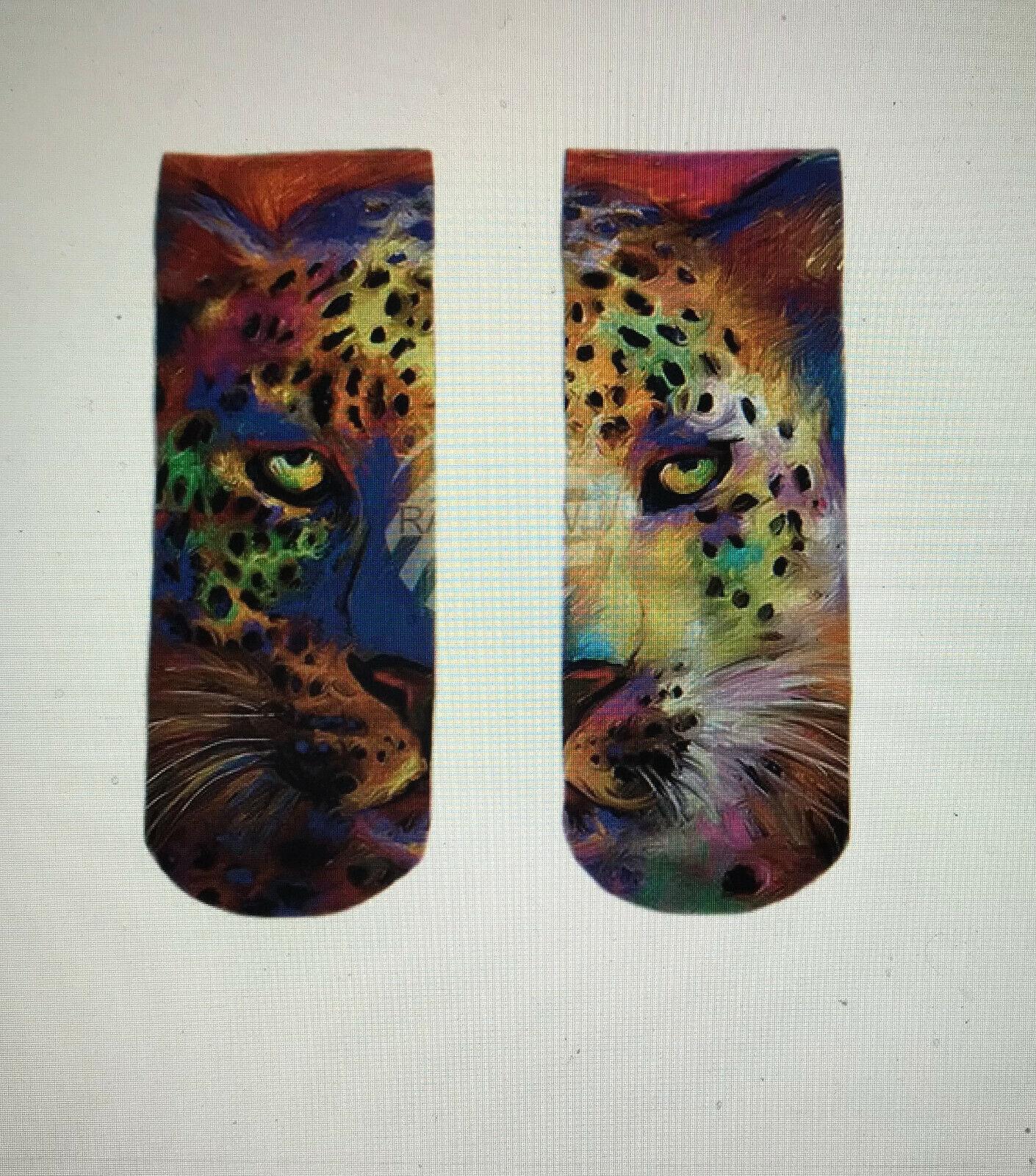 Motiv Socken Leopard