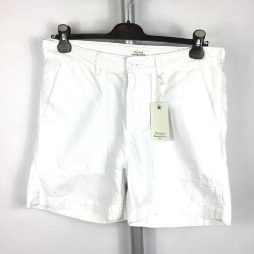 Hartford bianco Shorts o blu in misto cotone Bnwt fY6wCaq7