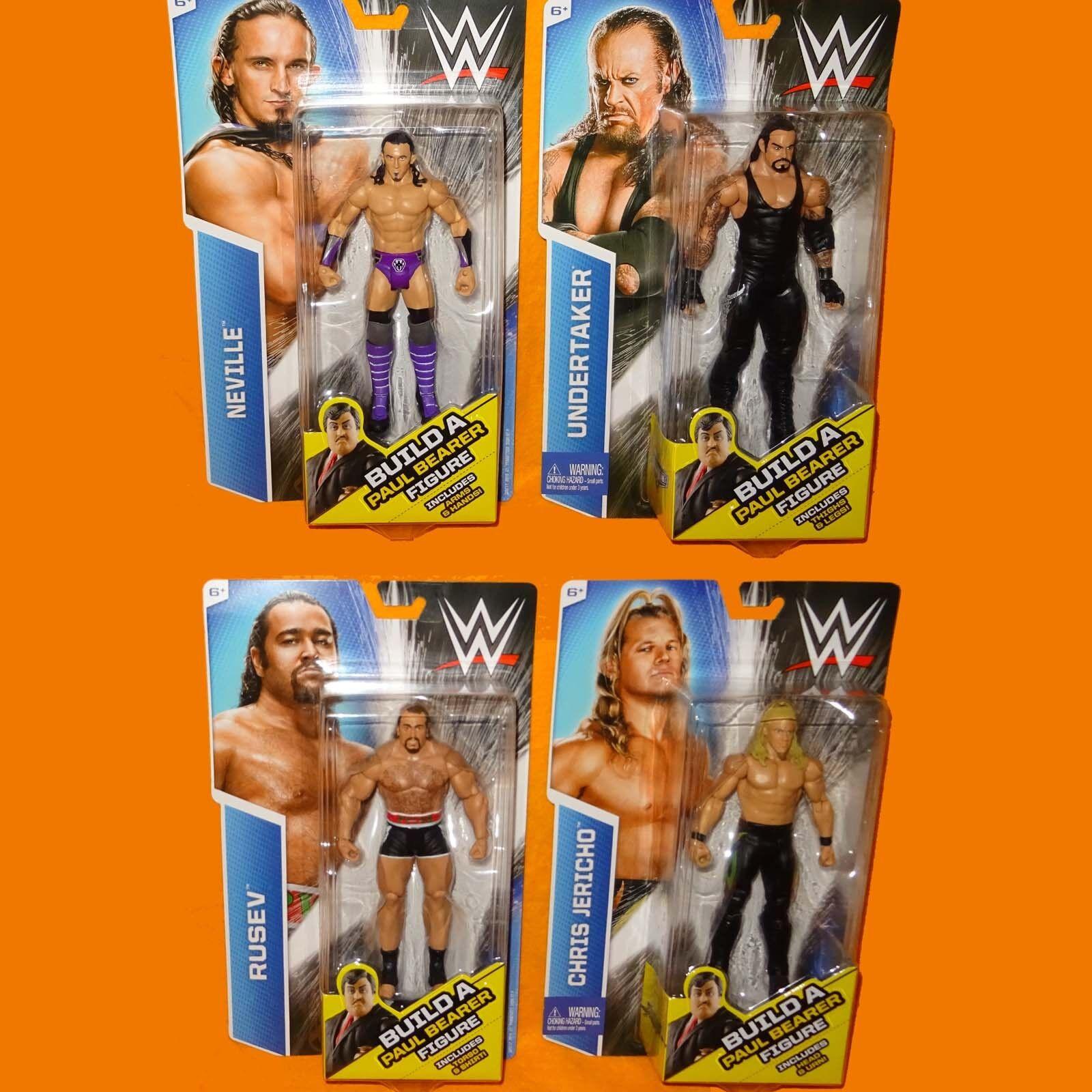 2015 MATTEL WWE WRESTLING WRESTLEMANIA 22 FIGURES COMPLETE LOT MOC CARDED NEW
