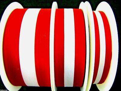 Red White Striped Patriotic Ribbon Austria Denmark Poland Polish
