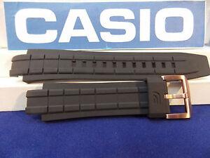 c3590497da6b Casio Watch Band EFX-700   EFX-500 Black Rubber Strap Edifice w ...
