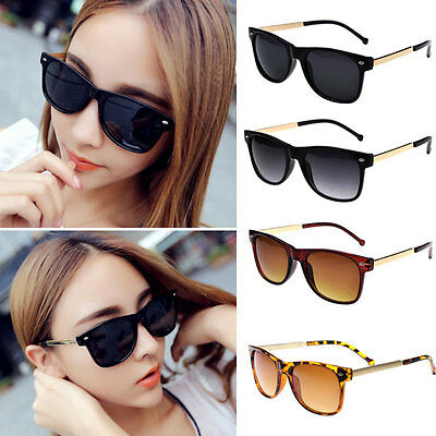 New Vintage Retro Men Women Outdoor Metal Frame Sunglasses Glasses Eyewear