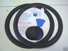 "JBL 2235 2235H 2231A-15"" Woofer Foam Speaker Repair Kit w/ Shims & Dust Caps!"