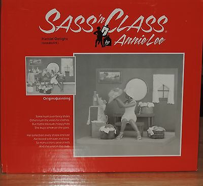 "Annie Lee's Sass 'n Class ""Hatties' Delight"" Figurine NIB"