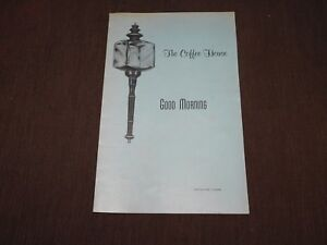 VINTAGE-OLD-DINING-THE-COFFEE-HOUSE-WINTER-PARK-FLORIDA-MENU