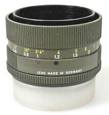 Leica Leitz SUMMILUX-R 50mm 1.4 Safari Chassis parte lumache Gang pezzo di ricambio ()