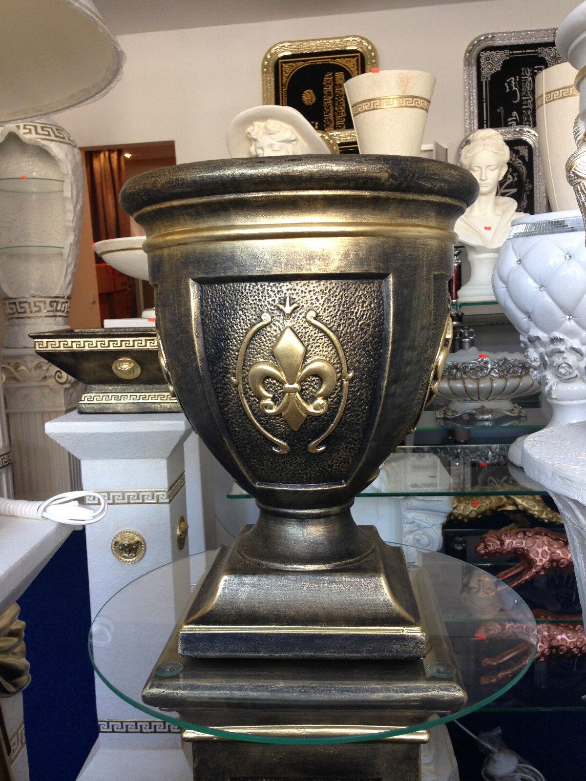 Medusa Schale Blaumenkübel Vase Barock Blaumenvasen lilifee mit Style 0865 k 110