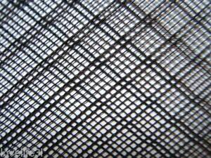 40x40cm-PLASTIC-NET-STRONG-BLACK-FLEXIBLE-HDPE-INSECT-FISH-MESH-SCREEN-FINE-2mm