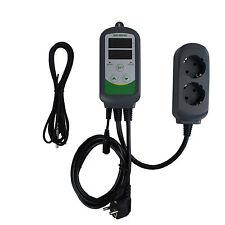 220V Aquarium Greenhouse Digital Temperature Control Thermostats w/ Thermocouple