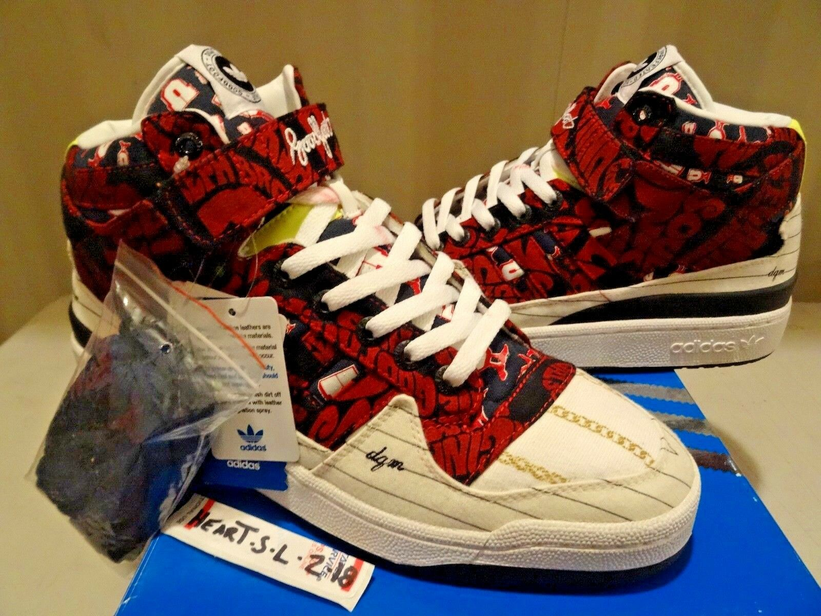 Nuevo DS Adidas Forum Mediano D Hug-DQM X Huf X Undefeated X Goodfoot YEEZY