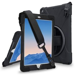 Fit-iPad-6-2018-A1893-Case-with-360-Degree-Swivel-Stand-Hand-Strap-and-Shoulder