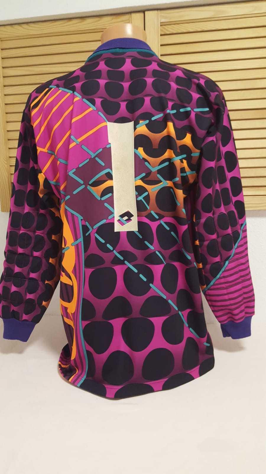 Lotto Vintage Retro Torwart Trikot Shirt Jersey Camiseta Portere Goalkeeper L