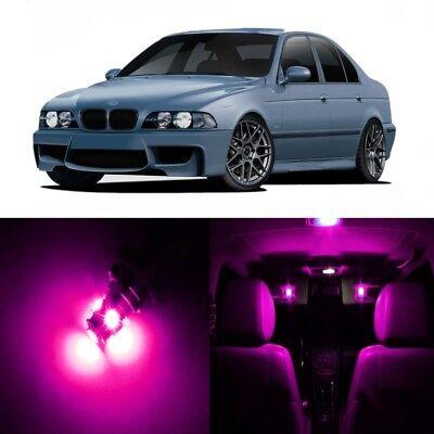 BMW 3er F30 Sedan 14 LED white red blue green Interior Lights Package Kit