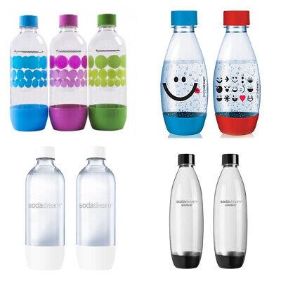 CHOOSE YOUR BOTTLES SodaStream Carbonating Bottles 1//0.5 L Liter EXPIRE 3 YEARS