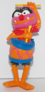 Animal-with-Drum-Plastic-Figurine-The-Muppets-Figure-MUP010