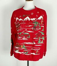 NWOT FROSTY SNOWMAN Christmas Crewneck Sweatshirt Regular sizes