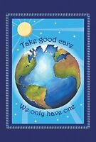Toland Home Garden Protect Earth 12.5 X 18-inch Decorative Usa-produced Garden