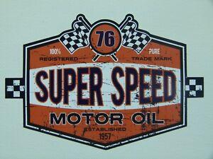 76 Speed Oldschool Sticker Aufkleber Tuning Youngtimer Usa Cars V8