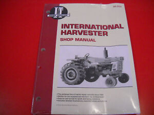 international tractor shop service i t manual 454 574 766 886 966 rh ebay com 1456 International Tractor 826 International Tractor
