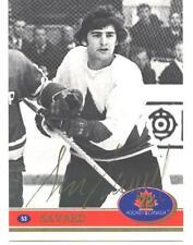 1972 Team Canada Serge Savard Factory Authentic Fingerprint Swirl Autograph # 53