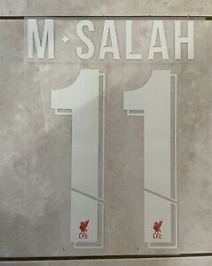 Flocage Nameset Mo.Salah #11 Liverpool Home . Champions League