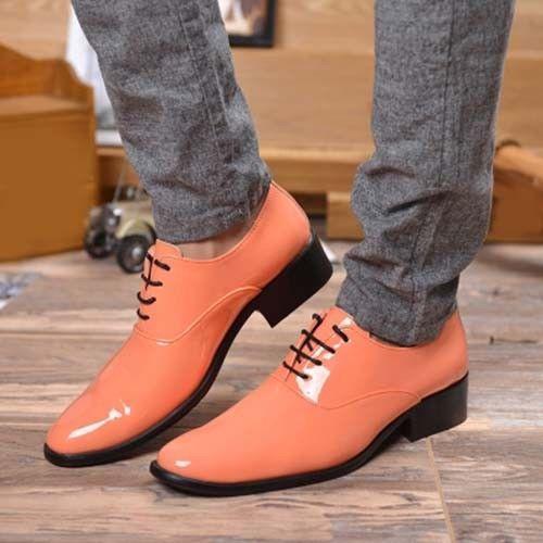 Homme Robe de Formel Lacets Mariage Chaussures Talons bout pointu et British Cuir Derbies