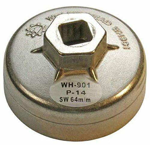 BGS Ölfilterkappe in alluminio pressofuso, 64mm x 14Esagonale, 1042 (s2W)