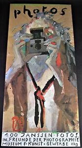 Horst JANSSEN (1929-1995) - 100 Janssen Fotos - Museum für Kunstgewerbe Hamburg