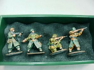 Wow extrêmement rare King & Country Ws017 Grenadiers Pz Grenadiers Waffen Ss attaque