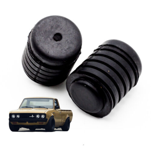 Front Spiral Hood Bonnet Bumper Rubber Black For Datsun 720 Pickup 1980-1991