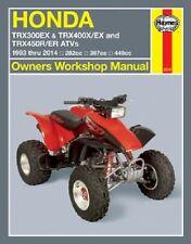 1993-2014 Honda TRX300EX TRX400EX TRX450R TRX450ER ATV Repair Manual 2013 1103