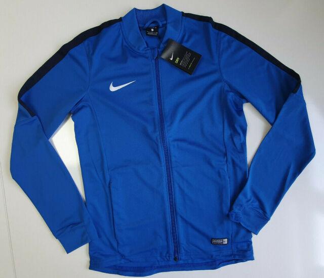 Nike Kinder Academy 16 Trainingsanzug 2 KönigsblauDunkelblauWeiß