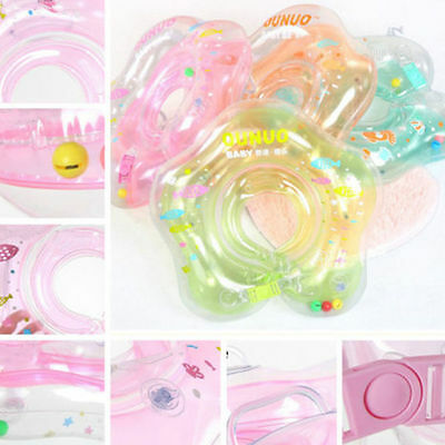 lovely Life Aerated Baby Infant Swimming Safety Ring Kids Float Tube Neck TOP DS