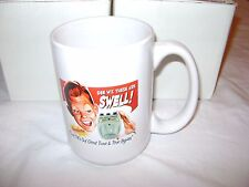 DANELECTRO Guitars Pedals SWAG Coffee MUG 'COOL CAT' GEE WHIZ So Swell RARE