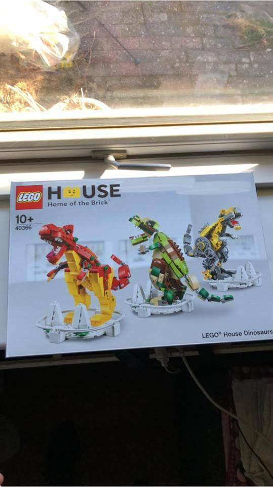 Lego Lego Lego 40366 Lego house Dinosaurs Free shipping 5e4af7