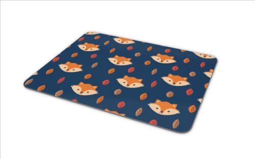 CUTE Ginger Fox Tappetino Mouse Pad-Fox /'S Animale Selvatico Mamma Regalo Divertente PC COMPUTER #8609