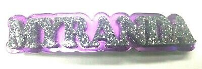 With Your Name Hair Barrette Personalized Custom Name Barrette Hair Accessory