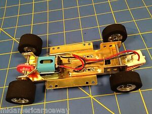 H&R Racing HRCH07 1/24 RTR Chassis FISH RUBBER 26k RPM Motor NASCAR Mid America
