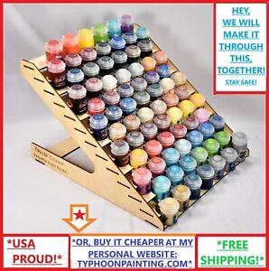 78-Frasco-Citadel-pintura-Rack-tifon-USA-Hobby-Master-Decoart-modelo-de-almacenamiento-de