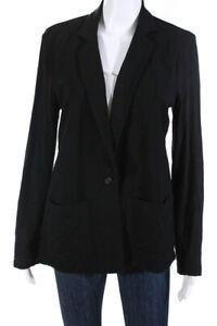 Majestic-Filatures-Womens-Stretch-Knit-Blazer-Black-Size-3