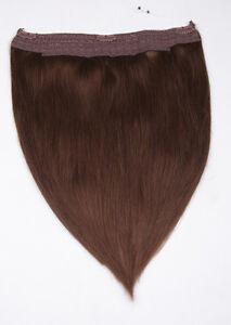 40cm-50cm-Flip-In-Extensions-Halo-Hair-Your-Hair-Secret-Remy-100-Echthaar