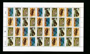 St-Pierre-timbres-639-616-2x-complet-draps-SEA-LIFE-Sujet-Scott-125