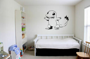 Wall Decal Sticker Room Nursery Bedroom Pokemon Anime Cartoon Cute Funny Bo2706 96802400186 Ebay