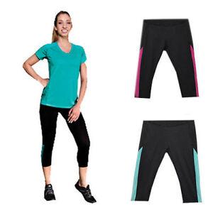 Ladies-Gym-Yoga-Dance-Sweat-Pants-Jogging-Black-Pink-Blue-Size-8-10-12-14-16-18